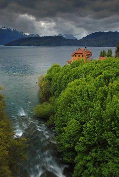 Villa Traful, en la provincia de Neuquen, Argentina