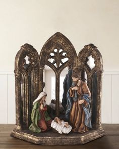 Holy Family with Cathedral Mirror