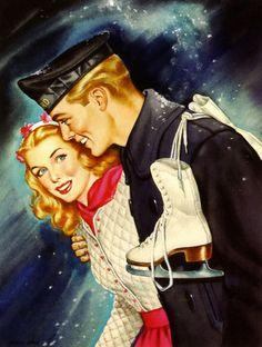 illustration by Gloria Stoll Karn 1945
