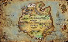 Valoran map :P