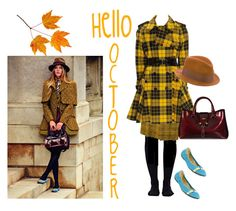 """""""Butterscotch 🎃"""" by jbeb ❤ liked on Polyvore featuring Wolford, Yves Saint Laurent, Jean-Paul Gaultier, Hogan, Tod's and rag & bone"""
