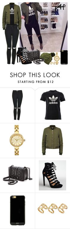 """""""Passion 4Fashion: I wish that was me"""" by shygurl1 ❤ liked on Polyvore featuring Topshop, adidas, JBW, Rebecca Minkoff, Sonix and ASOS"""