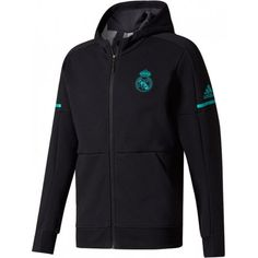 Proudly represent Real Madrid whenever you hit the pitch in this Anthem Squad Jacket from adidas. Premier League, Barcelona E Real Madrid, Black Adidas, Adidas Men, Real Madrid Jacket, Soccer Hoodies, Audi, Ronaldo Real Madrid, Star Wars
