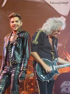 Brian May and Adam Lambert - Mohegan Sun 7/19/14