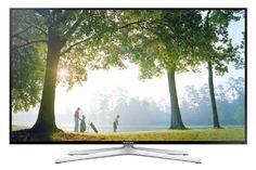 Samsung UE48H6470 121 cm (48 Zoll) 3D LED-Backlight-Fernseher (Full HD, 400Hz CMR, DVB-T/C/S2, CI+, WLAN, Smart TV, Sprachsteuerung) schwarz/silber