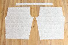 タック入りサーカスパンツの製図・型紙と作り方 | nunocoto fabric Linen Pants, Two Piece Skirt Set, Decoration, Skirts, Fabric, Dresses, Fashion, Decor, Vestidos