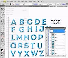 Convert text to glyphs (vector letters)