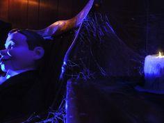 Halloween forum member Vampyrespro's Stonecrest Manor 2013 .