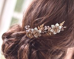 New 2014 collection Brass hair combs VESPER by LiveAdorned