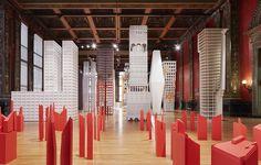 "The Chicago Architecture Biennial's ""Vertical City"" exhibition Bauhaus, Johnston Marklee, Chicago Cultural Center, Vertical City, Dear Students, México City, Chicago Tribune, School Architecture, Best Wordpress Themes"