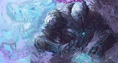 Ice Knight by JasonTN.deviantart.com on @DeviantArt
