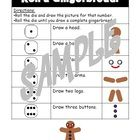 Mix math and Christmas/fairy tales with this fun roll a gingerbread activity! Students can pair up with a partner and take turns until one draws a ...