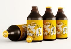 Sa Pilsen Beer on Packaging of the World - Creative Package Design Gallery Honey Packaging, Beverage Packaging, Bottle Packaging, Brand Packaging, Packaging Design, Tumblr, Craft Beer Labels, Beer Label Design, Bottle Design