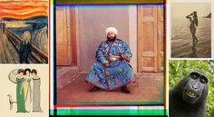 """historycultureeducation: """" [Colorized] Said Mir Mohammed Alim Khan (the last Emir of Bukhara before the Uzbek emirate was overthrown by the Red Army in photographed in 1911 by Russian. History Of Photography, Color Photography, People Photography, France Photography, Fashion Photography, Costume Ethnique, Domaine Public, Rare Historical Photos, Textile Museum"""
