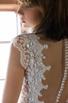 Daalarna FOLK Bridal Collection Inspired by Hungarian Folk-art Elements Open Back Wedding Dress, Amazing Wedding Dress, Sexy Wedding Dresses, Wedding Dress Styles, Bridal Dresses, Bridal Fabric, Bridal Boutique, Feminine Style, Bridal Collection