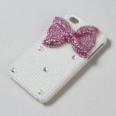 For the girly girl: Bling Bow iPhone Cover