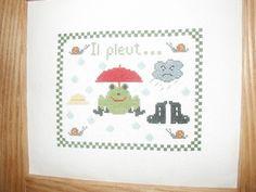 grenouille Cross Stitch, Kids Rugs, Home Decor, Handmade, Hands, Punto De Cruz, Decoration Home, Kid Friendly Rugs, Room Decor