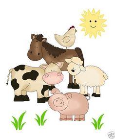 Baby Farm Animals Clip Art farm animals clipart, farm animals clip art, barnyard clipart
