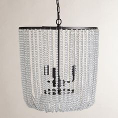 Clear Bead Chandelier $200