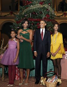 Michelle Obama Gets Her Christmas On | Tom + Lorenzo