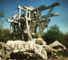 The remains of Makljen.#spomenik #bosnia #concrete #brutalism #yugoslavia #balkans #makljen