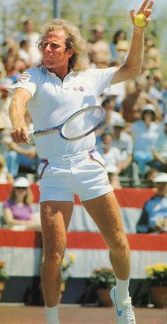 Vitas Gerulaitis. Atp Tennis, Tennis Gear, Tennis Tips, Tennis Clubs, Tennis Masters, Kim Clijsters, Jimmy Connors, Tennis Photos, Tennis Legends