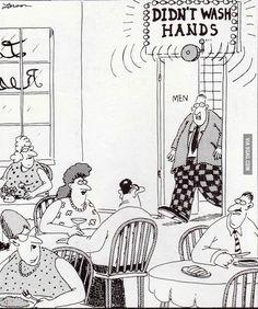 the far side cartoons Far Side Cartoons, Far Side Comics, Funny Cartoons, Funny Comics, Gary Larson Cartoons, The Far Side, Haha Funny, Funny Jokes, Funny Stuff
