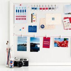 kikki.K vision board - geometrisk collection