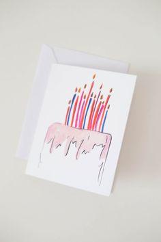 Happy Birthday Greeting Card  by ShannonKirsten
