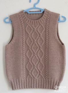 Baby Boy Knitting Patterns Free, Sweater Knitting Patterns, Rib Stitch Knitting, Knitting Stitches, Baby Cardigan, Knit Jacket, Knit Baby Sweaters, Knit Fashion, Vintage Knitting