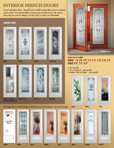 1000 images about doors for home on pinterest interior french doors interior doors and for Interior glass french doors home depot