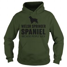 WELSH SPRINGER SPANIEL BECAUSE PEOPLE SUCK  HOODIE T-SHIRTS, HOODIES ( ==►►Click To Shopping Now) #welsh #springer #spaniel #because #people #suck # #hoodie #Dogfashion #Dogs #Dog #SunfrogTshirts #Sunfrogshirts #shirts #tshirt #hoodie #sweatshirt #fashion #style