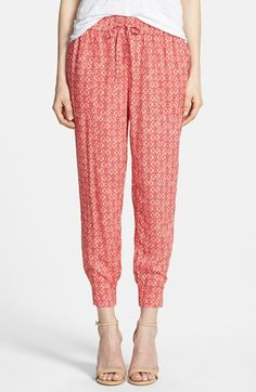Hinge Print Drawstring Pants available at #Nordstrom