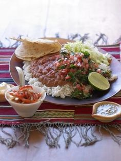 healthy, homemade Mexican-style food. nourish