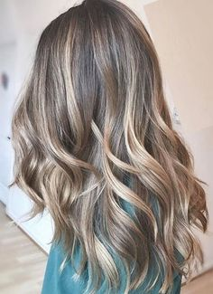 Ideal Hair Color for Long Hairstyles 2018 Bronde Balayage