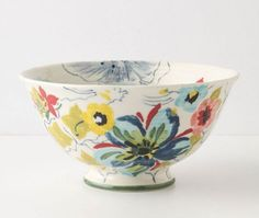 Sissinghurst Castle bowl from Anthropologie