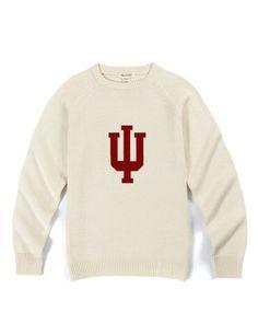 Indiana Crewneck Heritage Sweater (Creme)