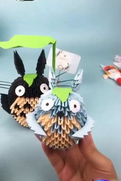 - Origami - Amazing DIY Guide Creative ideas about diy and decor. Paper Crafts Origami, Easy Paper Crafts, Diy Origami, Diy Home Crafts, Diy Arts And Crafts, Diy Craft Projects, Creative Crafts, Paper Crafting, Crafts For Kids