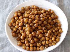 Crispy Chickpeas Recipe : Giada De Laurentiis : Food Network - FoodNetwork.com #vegan #vegetarian #glutenfree