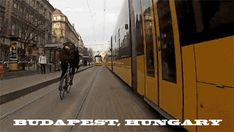 Cycling In Budapest, Hungary
