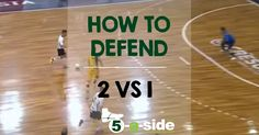 There's nowhere quite as lonely on the football field as when you realise you're defending 2 vs Here's the tips and strategy to play it successfully. Football Field, Football Soccer, Defensive Soccer Drills, Hero, Football Pitch