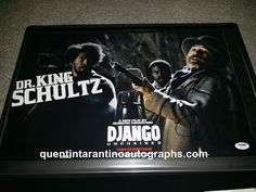 My Quentin Tarantino Autograph Collection: Christoph Waltz! Inglourious Basterds! Django Unch...