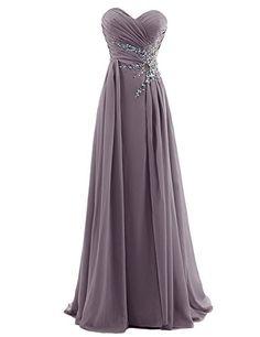 Dresstells® Women's Sweetheart Beading Floor-length Chiffon Prom Dress Grey Size 2 Dresstells http://www.amazon.com/dp/B00PRIOPBA/ref=cm_sw_r_pi_dp_Yaynvb1D5C005