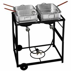 Outdoor Gourmet Propane Fish Fry Cart  Price: $149.99