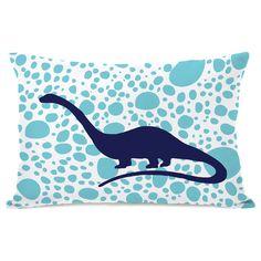 Apatosaurus Spots Throw Pillow
