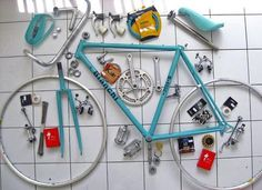 #bike in parts