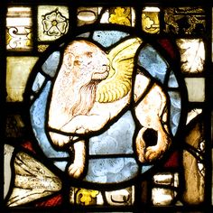stained glass lion medieval - Google Search