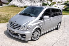 Mercedes Benz V-class W639 SPORTS LINE BLACK BISON EDITION