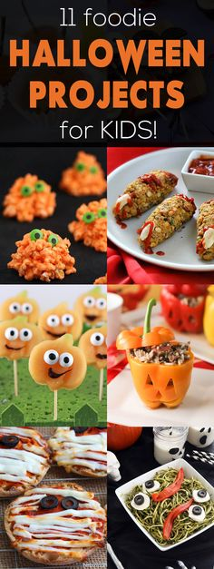 11 Edible Halloween Projects for Kids