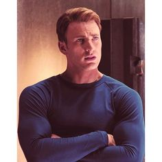 Steve Rogers | Oh la laaa ❤ liked on Polyvore featuring marvel, people, avengers, guys and chris evans
